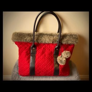 Festive Holiday Tote